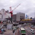 工事中,渋谷駅前,再開発,バスロータリー〈著作権フリー無料画像〉Free Stock Photos