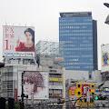 ビル看板,新宿駅前〈著作権フリー無料画像〉Free Stock Photos