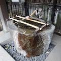月見岡八幡神社,竹の水口,手水舎,新宿,落合〈著作権フリー無料画像〉Free Stock Photos