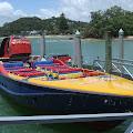 高速ボート,桟橋,パイヒア,NZ〈著作権フリー無料画像〉Free Stock Photos