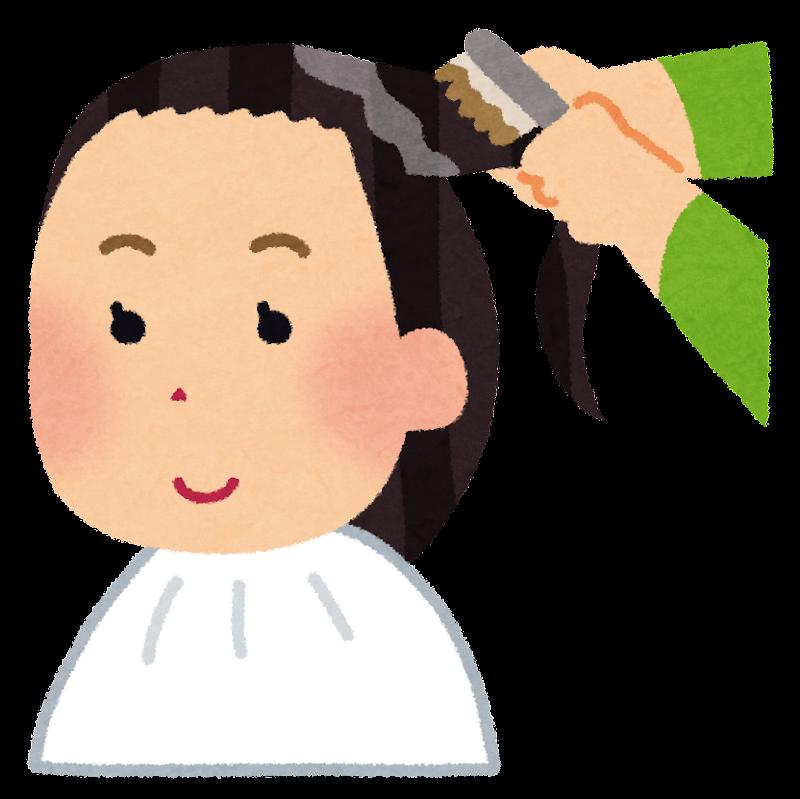「フリー素材 イラスト 髪の毛」の画像検索結果