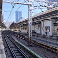代々木駅ホーム,線路〈著作権フリー無料画像〉Free Stock Photos