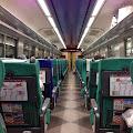 電車車内,青森駅〈著作権フリー無料画像〉Free Stock Photos