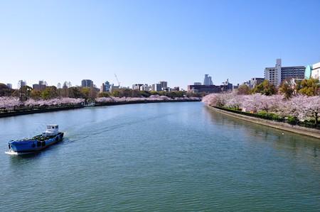 桜宮橋より