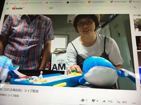 AMI-REN20200729「笑顔になれる商店街」をライブ配信05