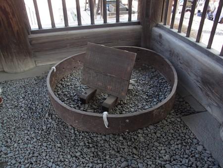 大仏殿の柱