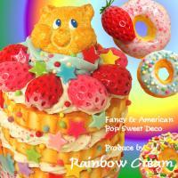 Rainbow cream
