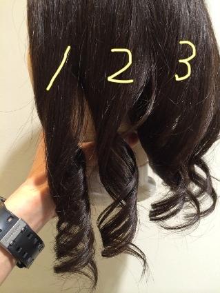 スタイリング 剤 髪 巻き