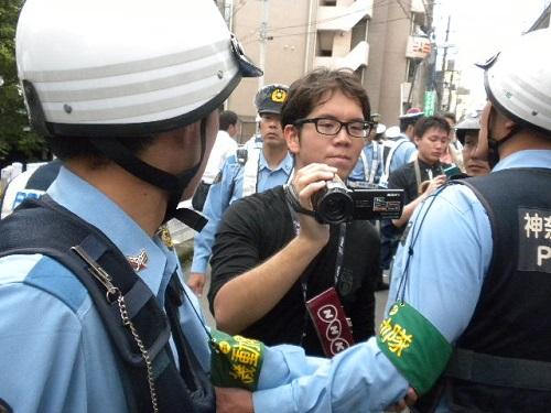 スゴミは、デモの取材の許可を取らずに勝手にデモの様子を撮影し、真実を報道せず、歪曲報道ばかりしている。NHK