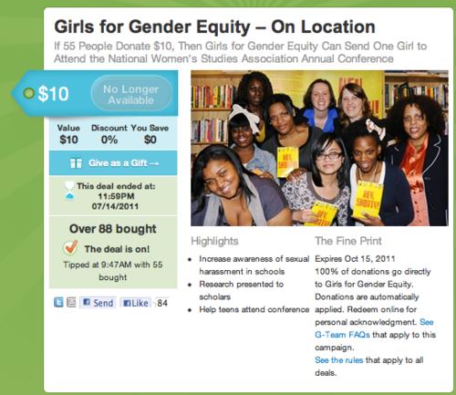 Girlsforgenderequity