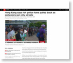 Hong Kong pro-democracy protesters jam city streets - CNN.com