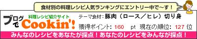 料理レシピ集 byブログでCookin'! 豚肉(ロース/ヒレ)切り身