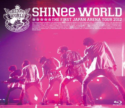 "SHINee THE FIRST JAPAN ARENA TOUR ""SHINee WORLD 2012"