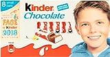 Kinder Chocolate (キンダーチョコレート) 100g (8ケ x 12.5g)...