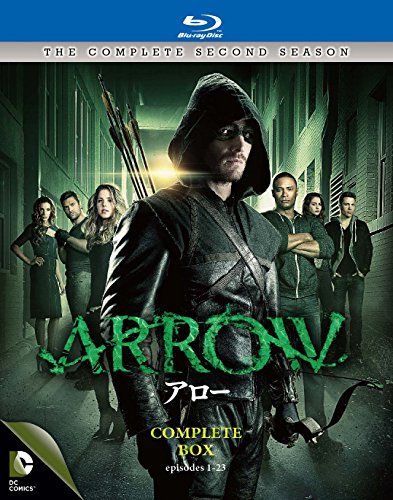 "ARROW / アロー <セカンド・シーズン> コンプリート・ボックス(4枚組) [Blu-ray]"" style=""border: none;""></a><br /> <img src="