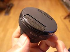 GW-1+ペンタのレンズキャプ 49mm