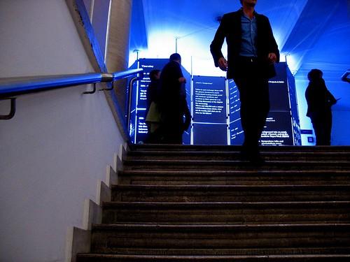 blue upstair,blue shirts