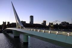 Puente de la Mujer, @ Puerto Madero, Buenos Aires