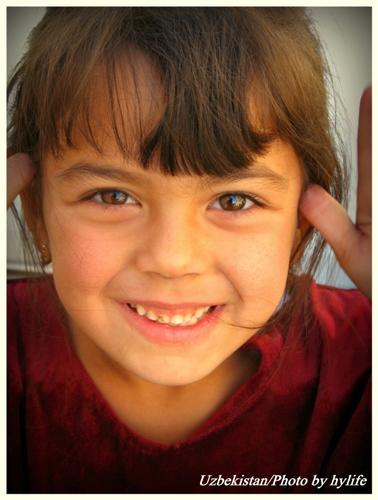 Girl's Smile/Uzbekistan