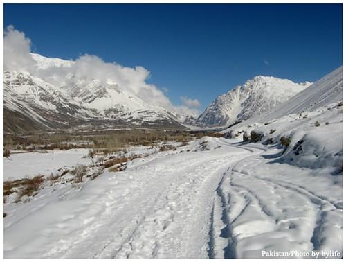 北パキスタンの冬/Pakistan