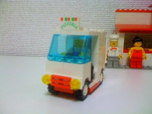 LEGO 10036 ピザハウス