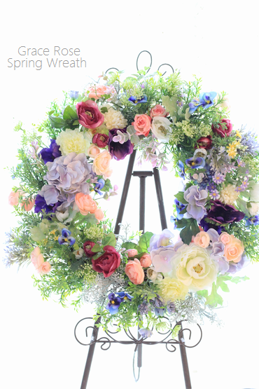 春リースレッスン群馬県太田市