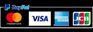 PayPalでクレジットカード利用可能