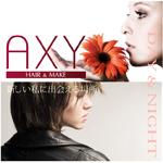 歌舞伎町の美容室AXY-HAIR&MAKE-(アクシー)公式サイトへのリンクです。