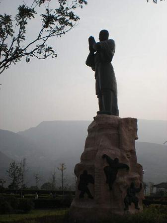 少林寺銅像