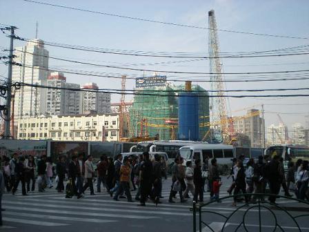 工事中上海