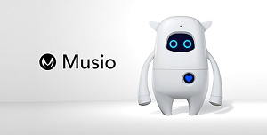 英語学習に最適なAI(人工知能)搭載ロボット「Musio X」