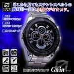 【防犯用】【小型カメラ】腕時計型ビデオカメラ(TAKUMI-ZEROシリーズ)『Gaia』(ガイア)