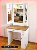 カントリー家具パイン家具ドレッサーミラー鏡台三面鏡
