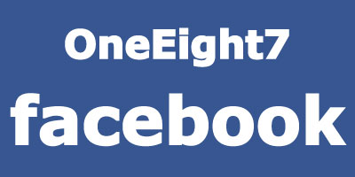 OneEight7 facebook