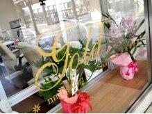 ネイルサロン ゴールド Nail salon GOLDの雰囲気(茨木市駅直結の好立地!雨の日も濡れずに通える♪)