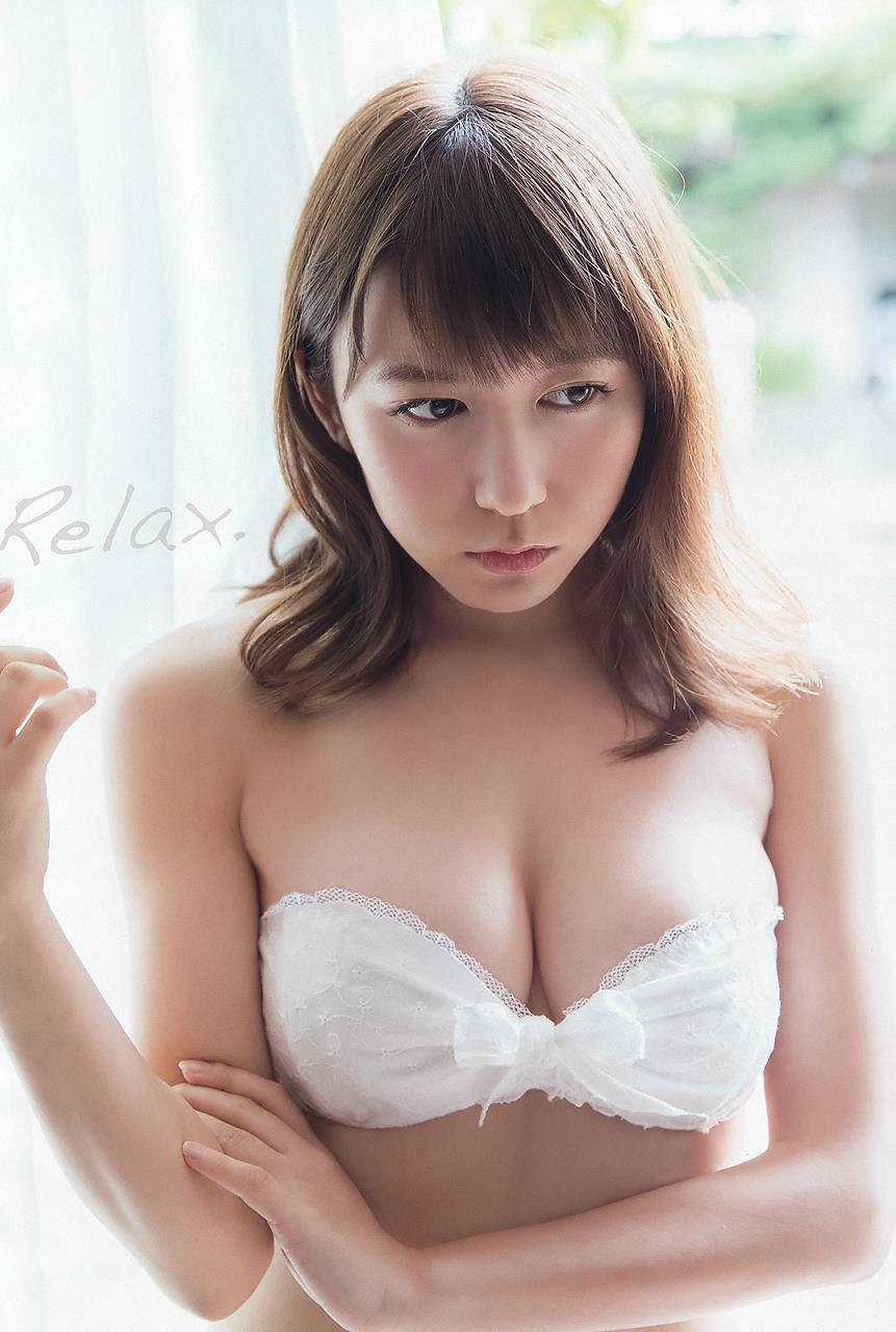 白水着の大場美奈