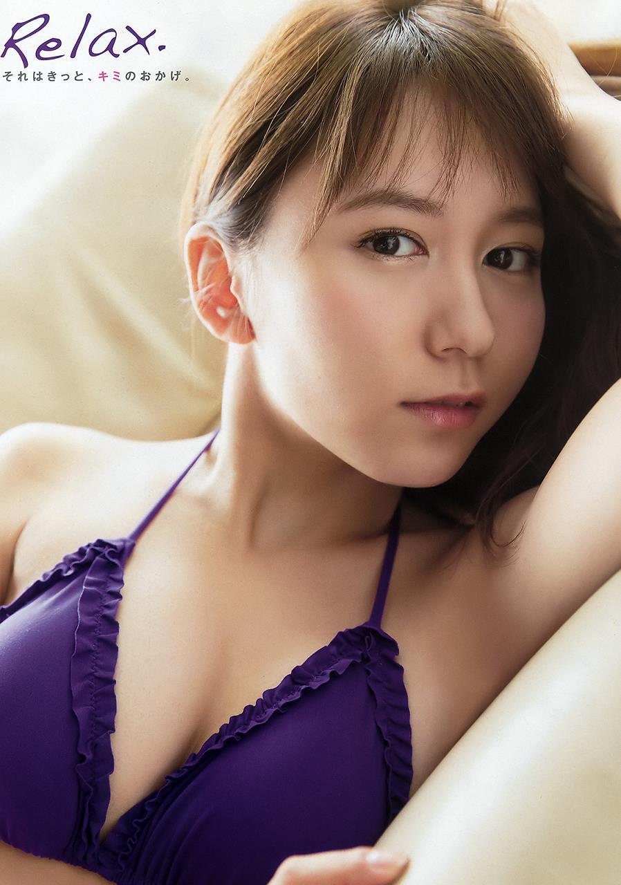 紫水着の大場美奈