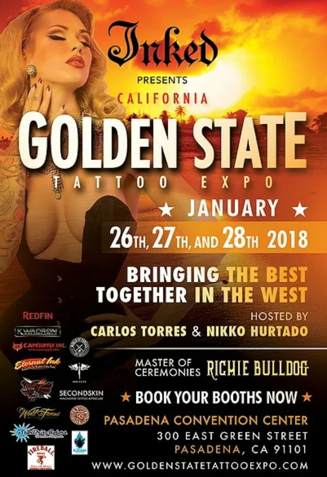 Golden State Tattoo Expo 2018