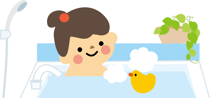 入浴のイメージイラスト 無料 に対する画像結果