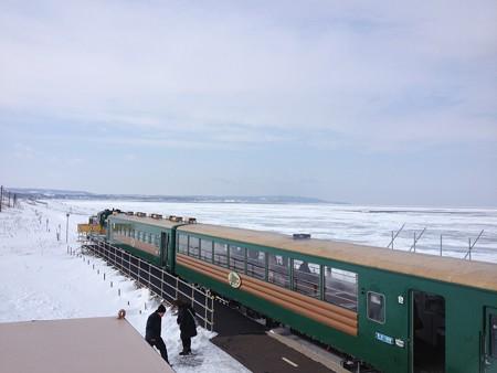 19北浜駅にてノロッコ