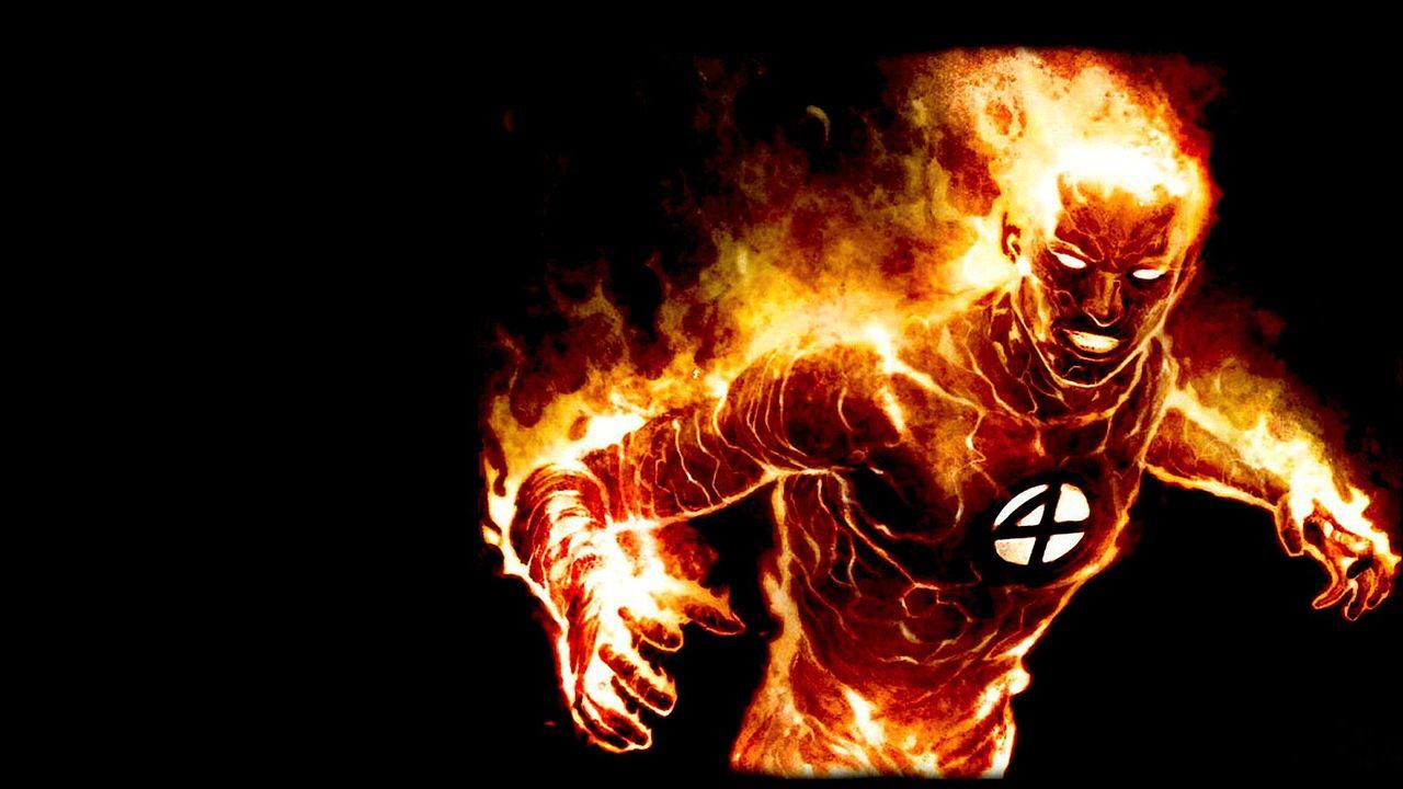 炎を操るヒーロー・ヒューマン・トーチ