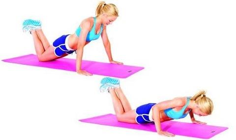 T-half-pushups