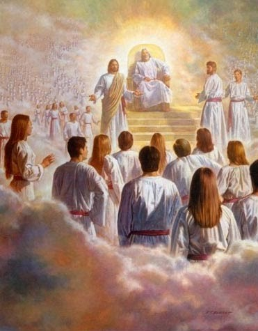 0jesus is at the right hand of god