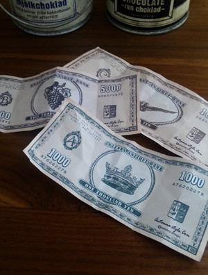 外国のお金おもちゃのお札