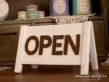 看板オープン