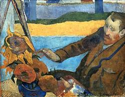 ポール・ゴーギャンが描いたゴッホ
