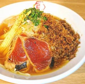百年本舗 肉汁鰹冷やし中華ソバ