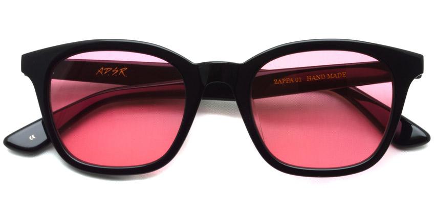 A.D.S.R. / ZAPPA01(b) / Shiny Black - Llght Red Lenses / ¥16,000 + tax