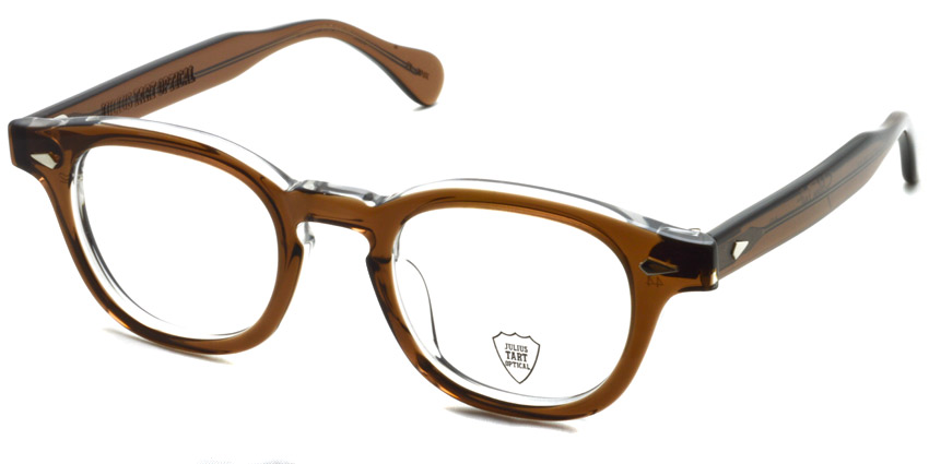 JULIUS TART OPTICAL / AR / BROWN CRYSTAL 2 / ¥37,000+tax