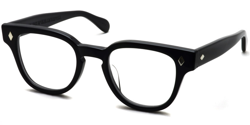 JULIUS TART OPTICAL / BRYAN / BLACK / ¥37,000+tax